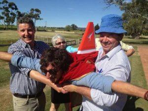 JRB and Matt Koch and Matt Skinner Qantas