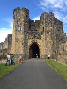 Alnwick castle - Hogwarts Castle 2014