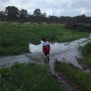celia-wading